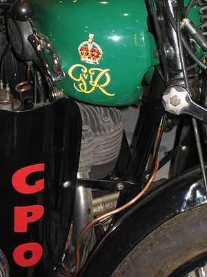 Telegram messenger - GPO Telegram messenger motorbike