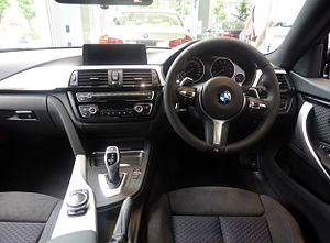 BMW 4 Series (F32) - Gran Coupe interior