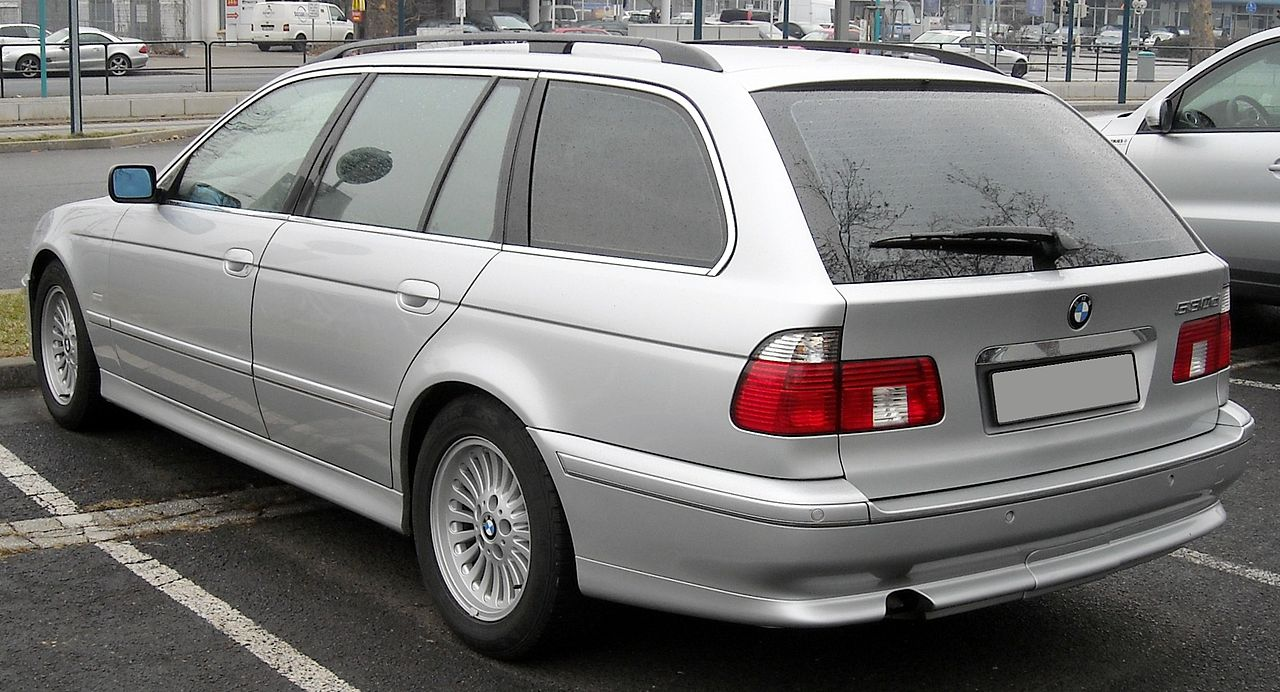 File Bmw E39 Touring Rear 20090204 Jpg Wikimedia Commons