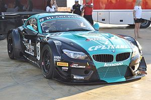 Group GT3 - A BMW Z4 GT3 in the FIA GT1 World Championship