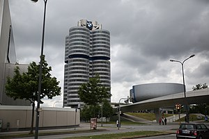 BMW Headquarters - BMW headquarters in Munich