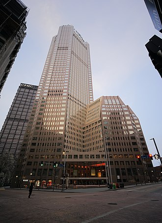 BNY Mellon Center (Pittsburgh) - The BNY Mellon Center as seen from Fifth Ave and Grant St.