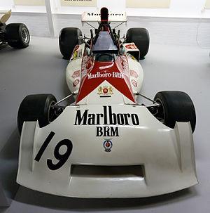 BRM P160 - Image: BRM P160E front Donington Grand Prix Collection