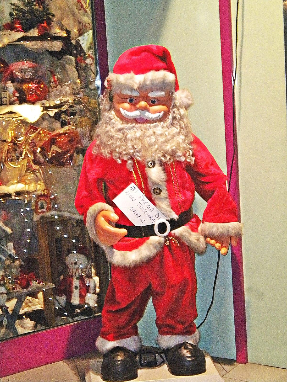 Babbo Natale Wikipedia.File Babbo Natale Movibile Jpg Wikimedia Commons