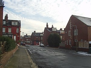 Back-to-back house - Back-to-backs in Bankfield Road, Leeds, 2005