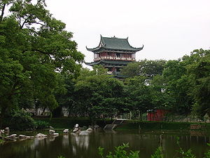 Ganzhou - Bajing Pavilion in Ganzhou