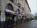 Baker Street stn south entrance looki east.JPG