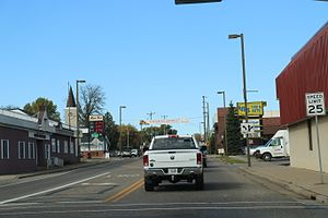 Baldwin Wisconsin Downtown US53.jpg