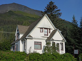 National Register of Historic Places listings in Kenai Peninsula Borough, Alaska - Image: Ballaine House Lodging Seward 2013