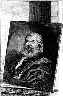 Balthasar Permoser nach einer Zeichnung von Moritz Bodenehr (1665–1749) (Quelle: Wikimedia)