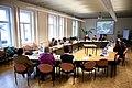 Baltijas Asamblejas Balvas literatūrā, mākslā un zinātnē Kopīgās žūrijas komisijas sēde (6242595765).jpg