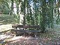 Bank im Herbstmorgen - panoramio.jpg