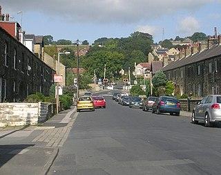 Riddlesden Human Settlement in West Yorkshire, England