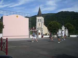 Barcus - The Church and the Fronton