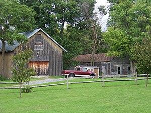 Gerrit Smith Estate - Image: Barn and Laundry Gerrit Smith Estate