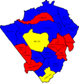 Barnet 2006 election map.png