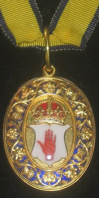Australian honours system - Image: Baronet UK cropped