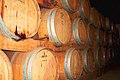Barriques de bois neuf Mercier à Stellenbosch farmer's winery.jpg