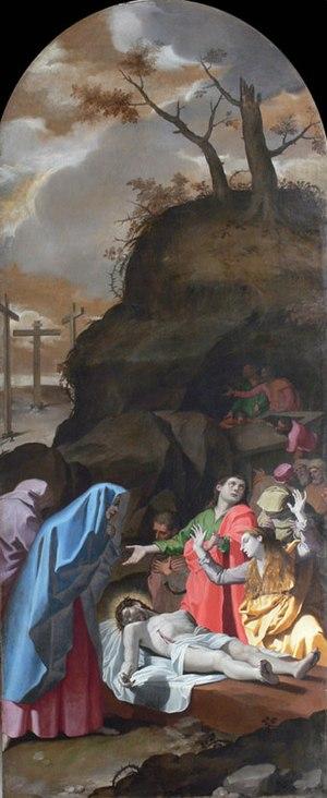 Bartolomeo Cesi - Image: Bartolomeo Cesi deposición certosa
