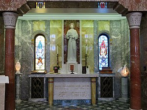 Elizabeth Ann Seton - Mother Seton's tomb in Emmitsburg