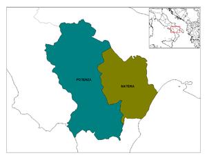 Le province lucane