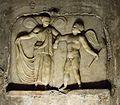 Bassorilievo con Amore e Psiche nel Mitreo di Capua.jpg