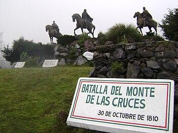 Batalla del Monte de las Cruces-30 oct 1810-M%C3%A9xico