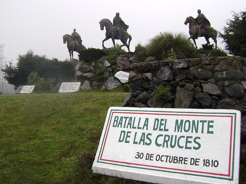 File:Batalla del Monte de las Cruces-30 oct 1810-México.jpg