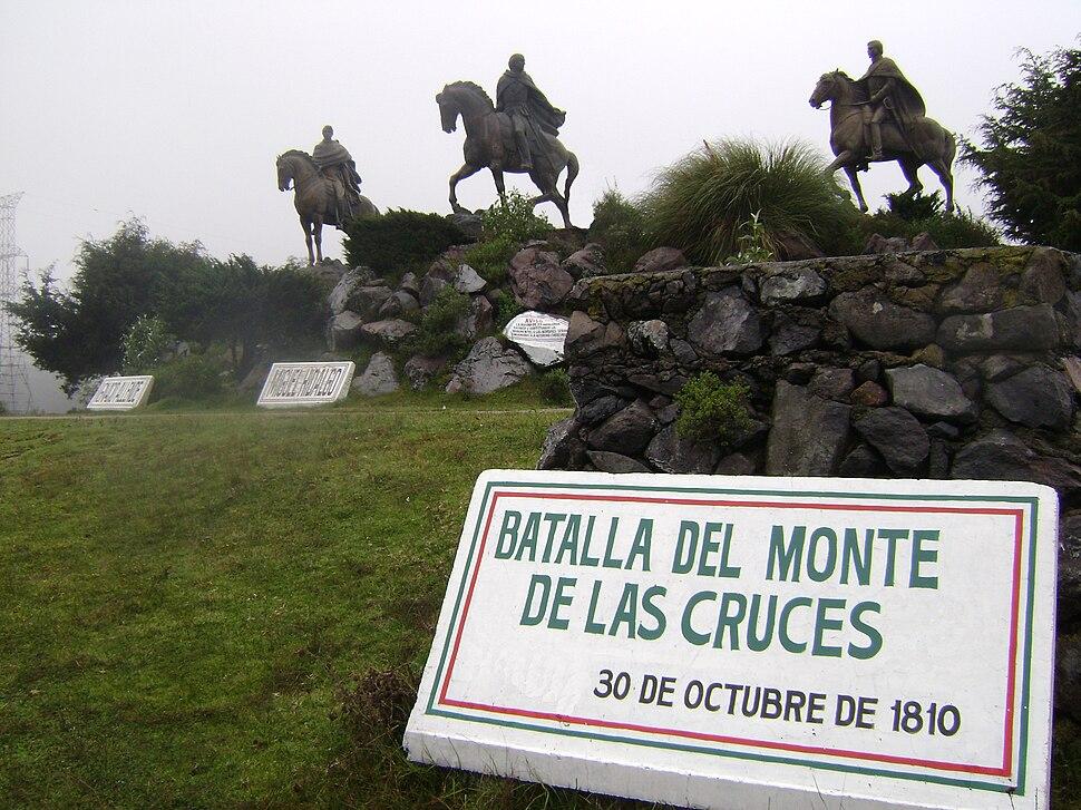 Batalla del Monte de las Cruces-30 oct 1810-México