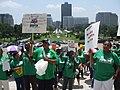 Baton Rouge Louisiana - AFSCME rally at the state capitol, Tuesday, May 12, 2009.jpg