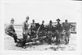 Battery A 142d FA at Fort Sill 1930's.jpg