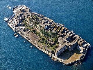 Hashima Island Abandoned island about 15 kilometres from Nagasaki, Japan