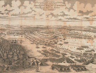 Battle of Kliszów - Contemporary drawing of the battle of Kliszów