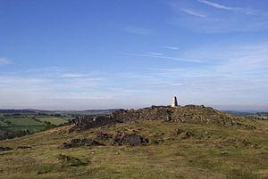 Charnwood Forest - The summit of Beacon Hill