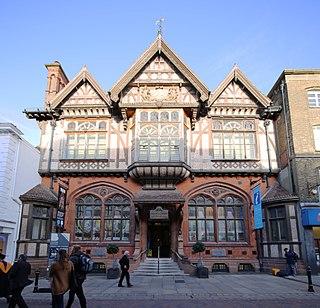 Museum, art gallery, library, regimental museum in Kent , England