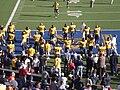 Bears on field pregame at USC at Cal 2009-10-03.JPG