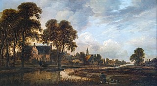 Dutch Village on a Canal