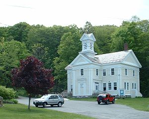 Becket, Massachusetts - Becket Arts Center, 2005