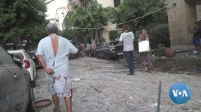 Fitxategi:Beirut Wakes Up to Scenes of Devastation (Source) - ap footage removed.webm