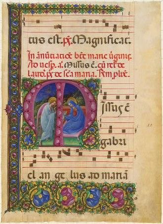 Belbello da Pavia - Image: Belbello da pavia, annunciazione, rosenwald collection, washington national gallery (1450 60)