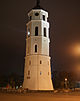 Belfry of Vilnius at night (8123175391).jpg