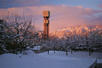 Weber State University - The Stewart Bell Tower is the most identifiable landmark of the Weber State campus and was built in 1972.