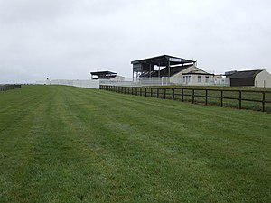 Bellewstown - Bellewstown Racecourse, where the Yellow Sam Betting Coup took place
