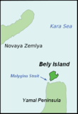 Bely Island and Malygin Strait