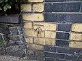 Benchmark on Stryd Y Faenol, Caernarfon - geograph.org.uk - 2060423.jpg