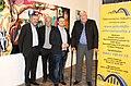 Benefizausstellung zugunsten Polyneuropathie. Werner Groiß, Bernhard Görg, Matthias Laurenz Gräff, Jörg Leiter.jpg