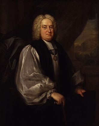 Benjamin Hoadly - Benjamin Hoadly, painted by Sarah Hoadly