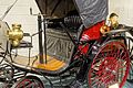 Benz automobile, 1892, made by Karl Benz, Mannheim, Germany, 5 HP, 1 cylinder, water-cooled, gasoline engine - Luray Caverns Car and Carriage Museum - Luray, Virginia - DSC01175.jpg