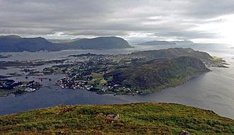 Herøy, Møre og Romsdal - The main island of Bergsøy