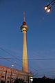 Berlin 50 aktenkilometer beim alex turm von unten grad 02.06.2011 21-52-18.JPG
